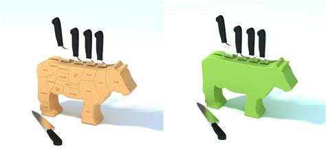 cool knife block 12 creative and cool knife block designs