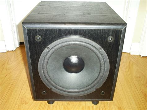 optimus pro sw p powered subwoofer home theater