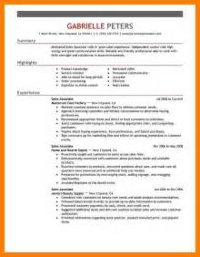 Retail Resumes Sles by 7 Retail Sales Associate Resume Bibliography Formated