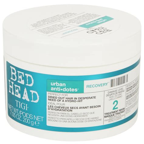 bed head urban antidotes tigi bed head urban antidotes recovery treatment mask
