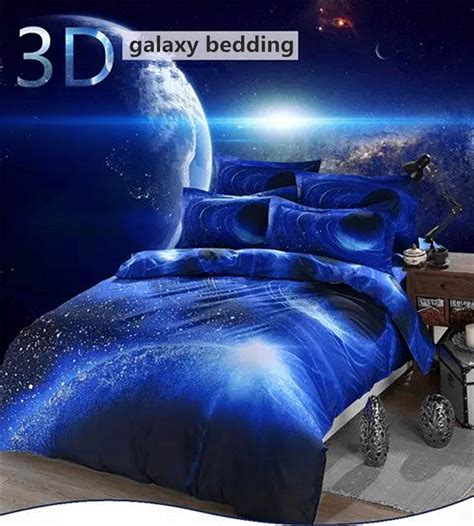 space themed bedding hipster 3d galaxy bedding set universe outer space themed
