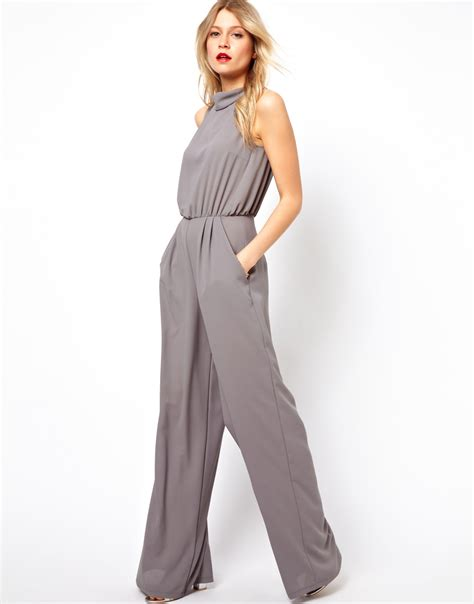 Jumpsuit Greya gray jumpsuit womens clothing