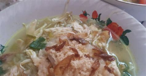 resep soto ayam enak  sederhana cookpad