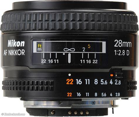 Nikon Af 28mm F 2 8d Nikkor Lens A nikon 28mm f 2 8 af d