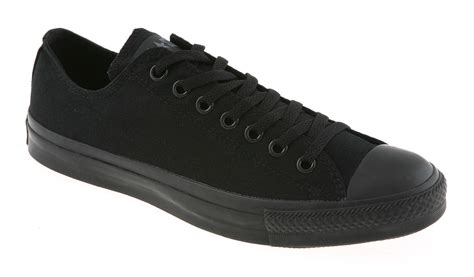 Sepatusantaicasualsekolahconverse Allstar All Black converse all low in black for save 11 lyst