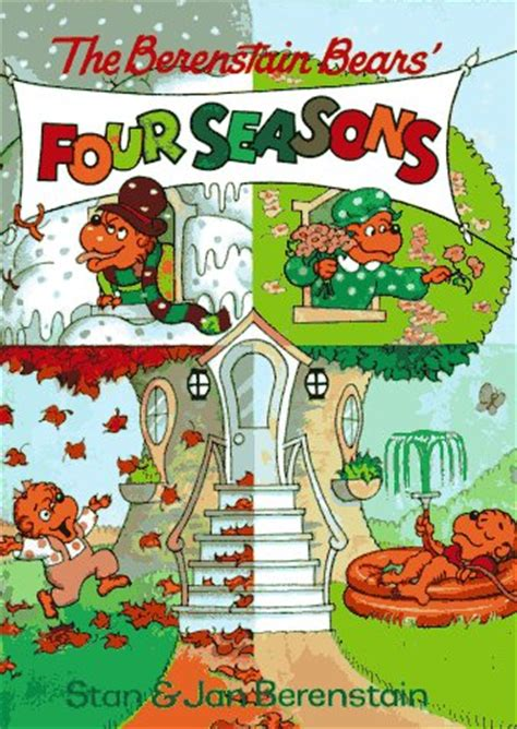 a season in my books the berenstain bears four seasons berenstain bears