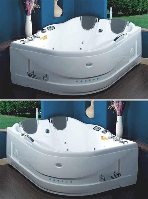 vasca idromassaggio whirlpool vasca idromassaggio 183x132cm a 19 idrogetti per 2 persone md