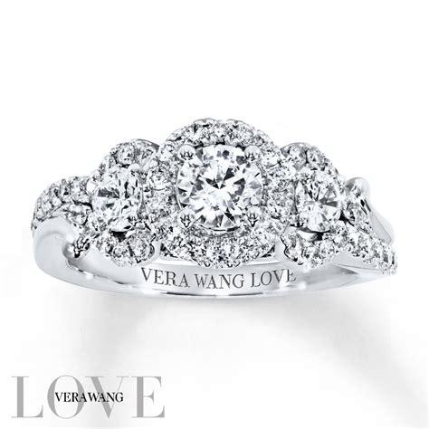 Wedding Rings Vera Wang by Vera Wang Wedding Ring Collection 3 4 Ct T W