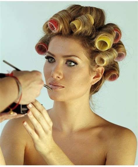 women who curls sissys hair in rollers 1763 best wet set go images on pinterest rollers in hair