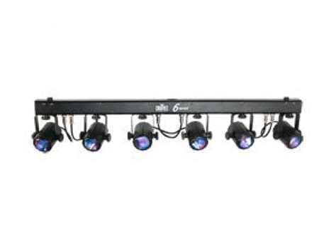 Stage Led Light Bar Chauvet 6 Spot Light Bar