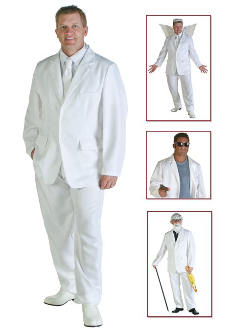 how to wear a white suit for your wedding brides mens white suit costume