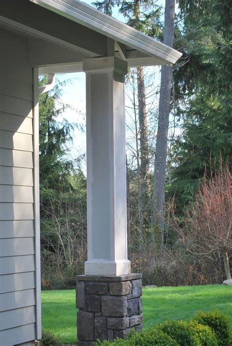 front porch columns a gathering place