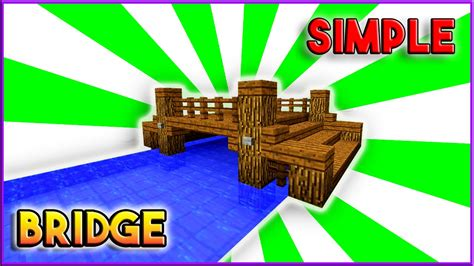 bridge pattern youtube minecraft how to build a bridge tutorial simple easy