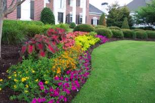 landscaping flower bed ideas flower gardens in the south landscape atlanta by