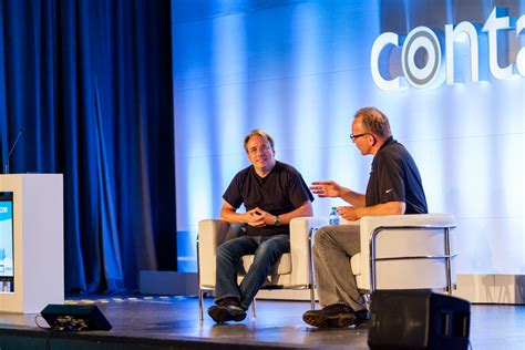 git tutorial linus torvalds linus torvalds reflects on 25 years of linux linux com