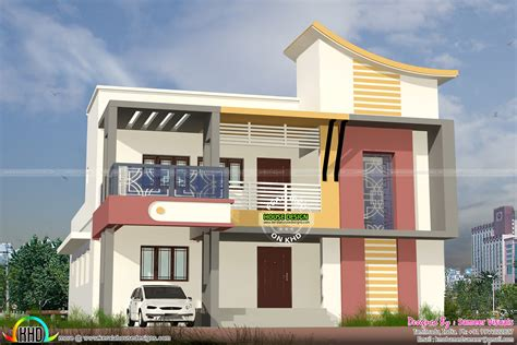 house 2 home design studio model house plan in tamilnadu studio design gallery