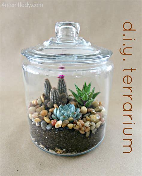 Handmade Terrarium - the gallery for gt how to make a mini cactus garden