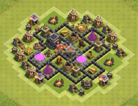 best th6 base 2016 8 best town hall th6 farming bases anti giants 2018