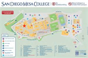 San Diego Mesa College Map by Mesa College Campus Map Capitoltheatreofgreeneville