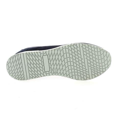 send baskets baskets so send chaussures cuir velours bleu marine 8107