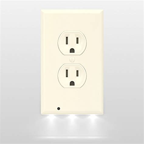 receptacle cover night light outlet cover night light moar stuff you don t need it
