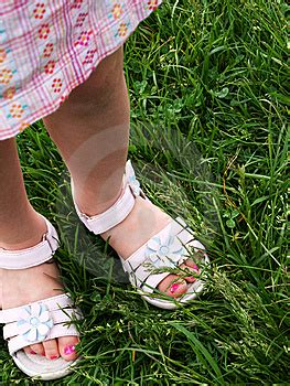 3 year s pedicure in dress sandals stock photos image 6081993