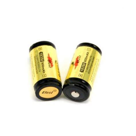 Efest 18350 Li Ion Protected Battery 900mah efest 18350 900mah 3 7v protected esmokespot