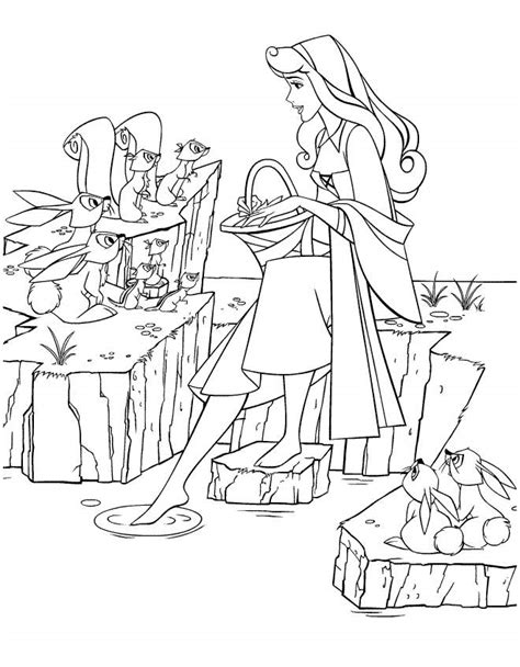 disney princess coloring pages sleeping disney princess coloring pages