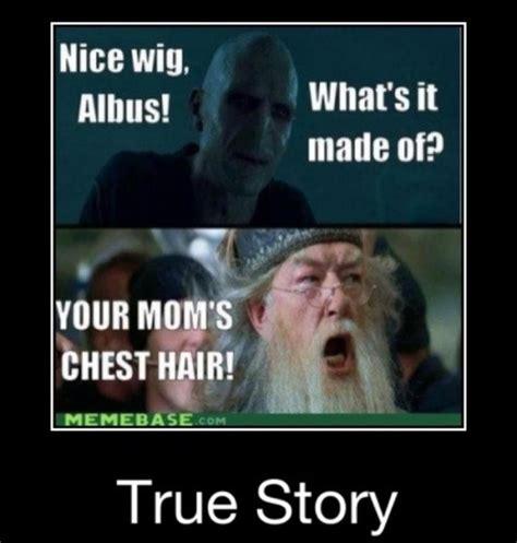 Your Moms Chest Hair Meme - 17 best images about perkamentus on pinterest albus