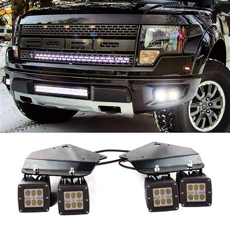 fog light kits for trucks ford f150 svt raptor truck 2010 2014 fog light kit led 3x3