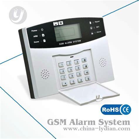 burglar alarm gsm wireless home burglar security alarm