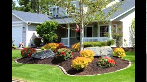 landscape design ideas front of house garden designs for front of house garden design ideas front house youtube