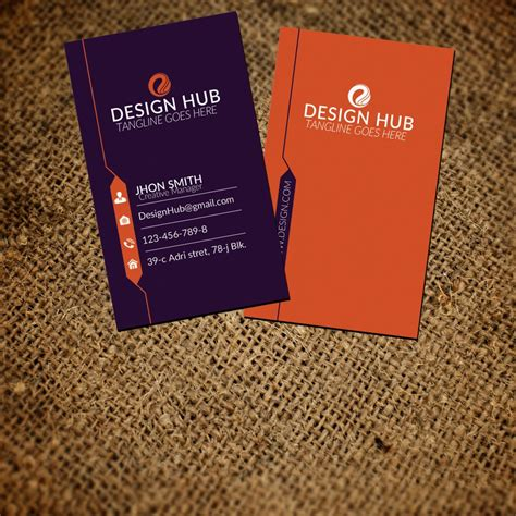 vertical business card template photoshop business card template vertical photoshop image