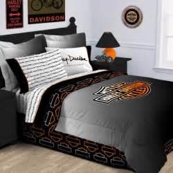 Harley Davidson Bedroom Set harley davidson rebel comforter twin size