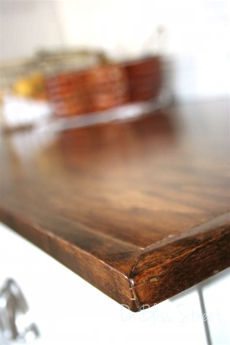 How To Build A Wooden Countertop by Diy Beautiful Wood Countertops For 200 Hometalk