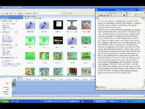 tutorial windows movie maker 2 1 windows movie maker youtube poop tutorial 1 the basics