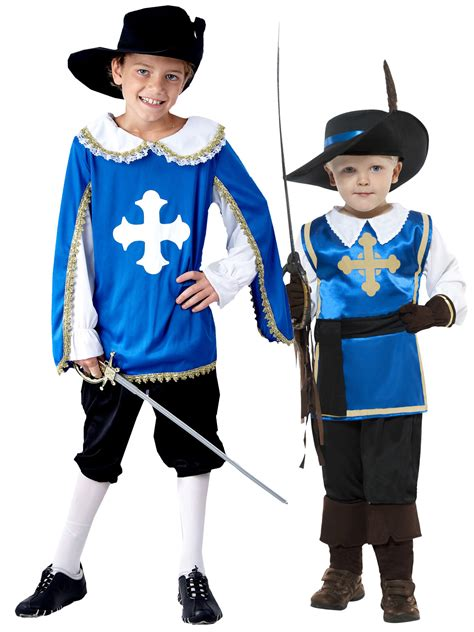 book themed clothing uk boys medieval french musketeer historical kids book week