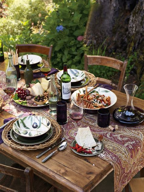country style dinners picks simple thanksgiving table setting ideas