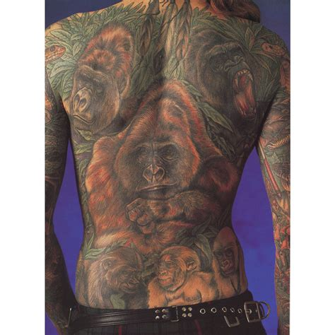 tattoo parlour reading quot gorillas in the mist quot gift set tattoo art by ian of reading