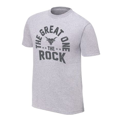 T Shirt The the rock quot the great one quot vintage t shirt us