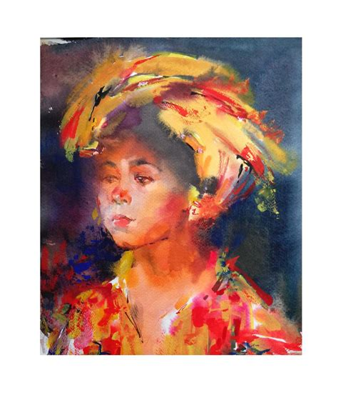 amazing watercolor portraits  tatsiana zayats art