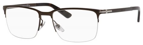 gucci eyeglasses semi rimless louisiana brigade