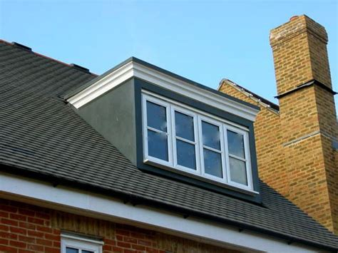 dormer windows flat roof dormer with windows across loft