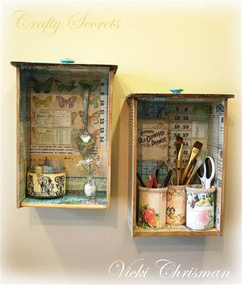 Paper Decoupage Ideas - crafty secrets heartwarming vintage ideas and tips