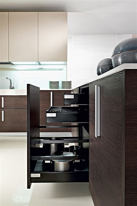 modern storage solutions innovative contemporary kitchen with efficinet storage