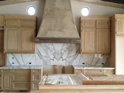 calacatta gold marble installation josh brown design s