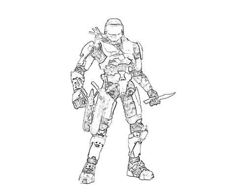 Halo 4 Coloring Pages by Halo 4 117 Weapon How Coloring