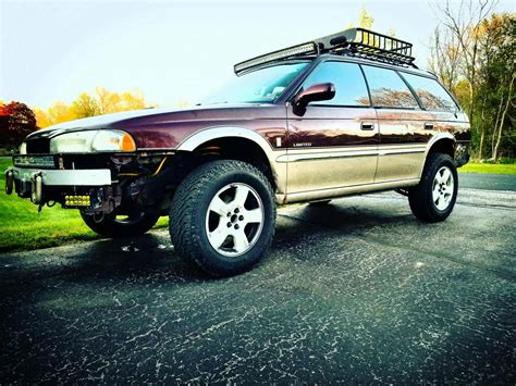 lifted subaru custom bumper and lifted 1999 subaru outback subaru