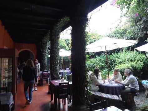 el patio photo el patio picture of cafe condesa antigua tripadvisor