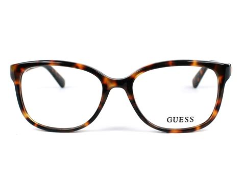 Guess Where This Is From 16 by Guess Brille Gu 2560 052 Visionet